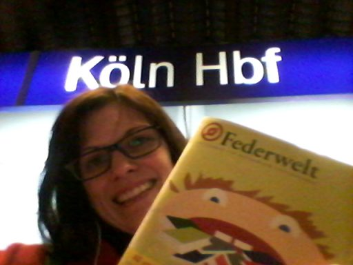 Mein Selfie am Kölner Hauptbahnhof