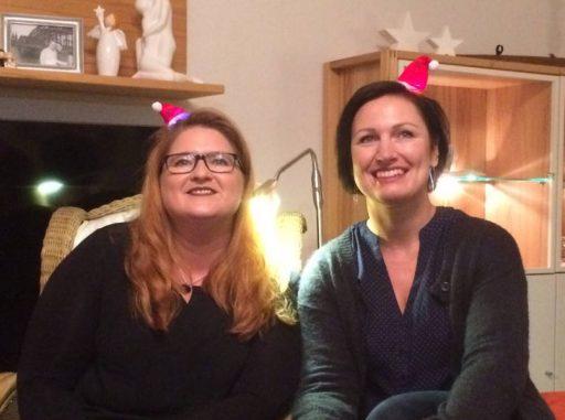 Nicole König und Louisa Beele (v. l. n. r.)