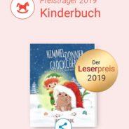 """Himmeldonnerglöckchen"" gewinnt den Lovelybooks-Leserpreis 2019!"